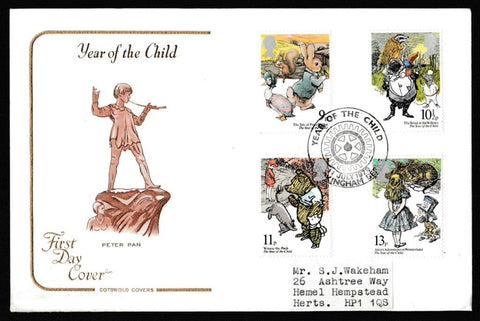 Great Britain First Day Cover, 'International Year of the Child', Cotswold, Year of the Child, Wokingham Berks, 11-Jul-1979