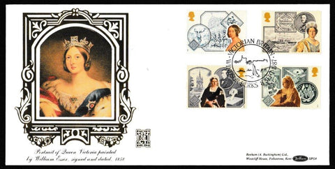 Great Britain First Day Cover, '150th Annversary Accession of Queen Victoria', Benham, Victorian Britain, Windsor, Berks, 08-Sep-1987