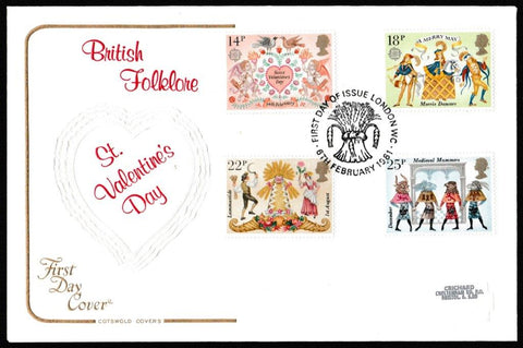 Great Britain First Day Cover, 'Folklore', Cotswold, London WC, 06-Feb-1981