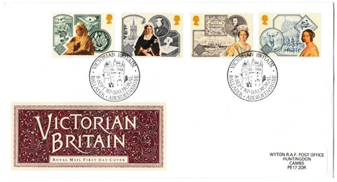 Great Britain First Day Cover, '150th Annversary Accession of Queen Victoria', Royal Mail, Victorian Britain, Balmoral, Ballater, 08-Sep-1987