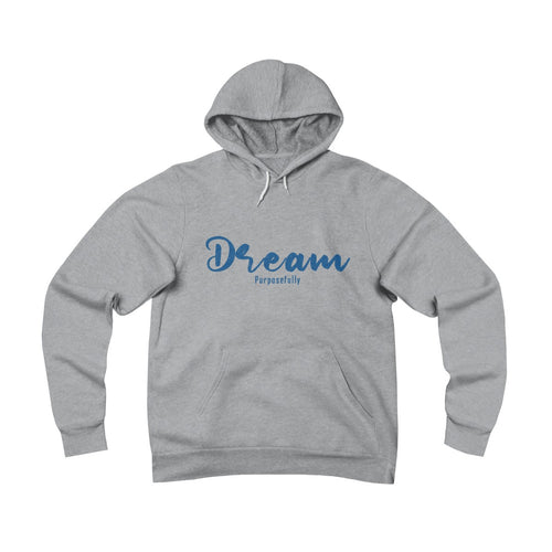 Dream Purposefully Unisex Sponge Fleece Pullover Hoodie