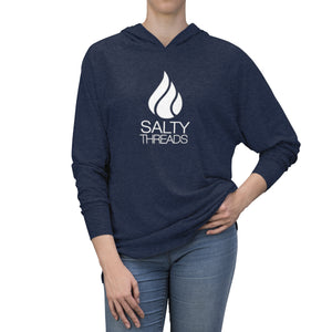 Salty Threads Logo Unisex Tri-Blend Hoodie