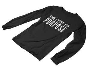 Cost of Purpose Plain LS Tee