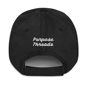 prpse Distressed Dad Hat