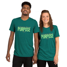 Load image into Gallery viewer, Everyone Has a Purpose Premium Tee (pastel green)