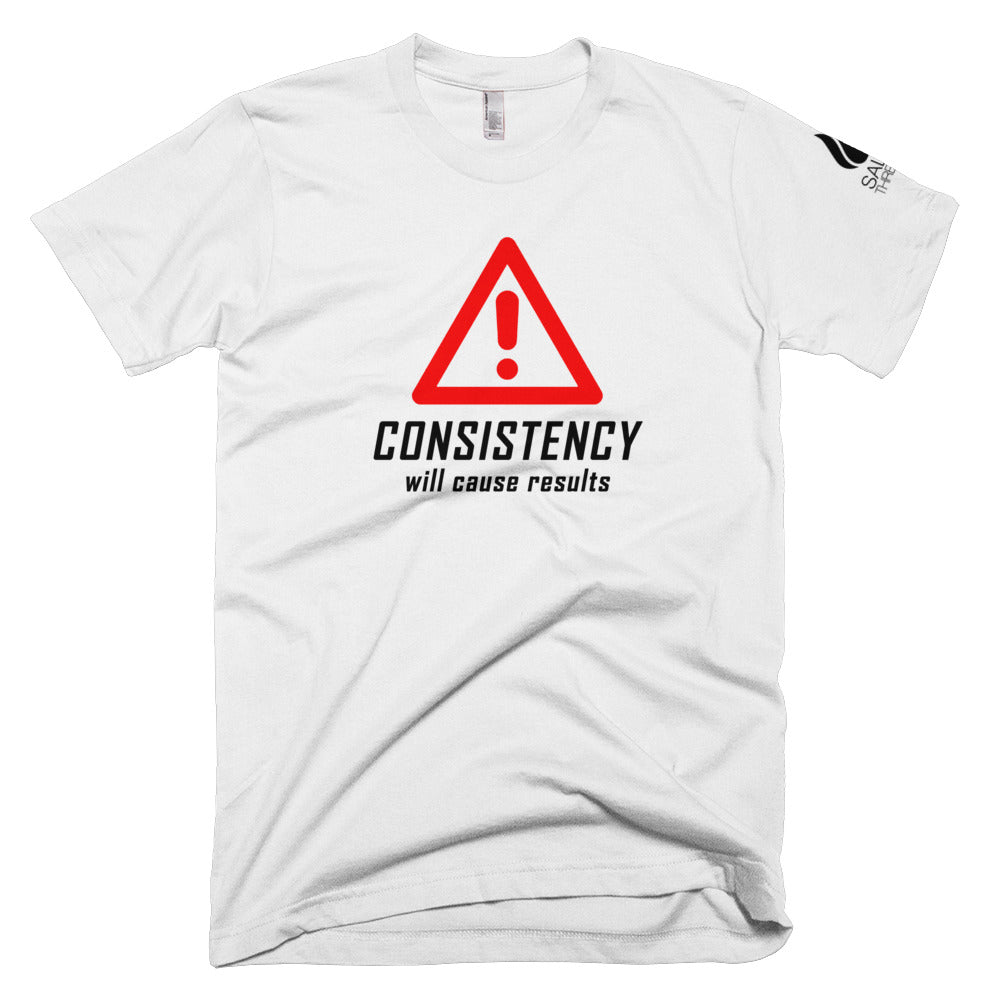 Consistency will cause results (grey)