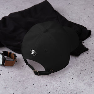 Not Today Dad hat (black)
