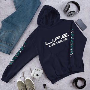 L.I.F.E. League 2019 TeckPack Hooded Sweatshirt