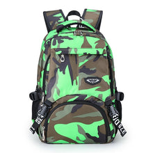 Load image into Gallery viewer, Camouflage Backpack