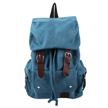 Load image into Gallery viewer, Vintage Canvas Shoulder Backpack