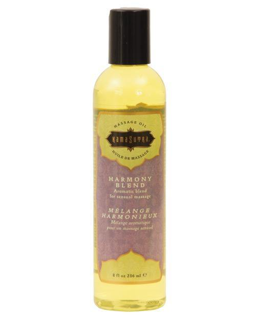 Kama Sutra Aromatic Massage Oil - 8 oz Harmony Blend