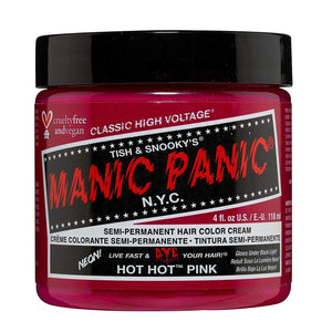 Manic Panic Hot Hot Pink Hair Dye Color - Vegan