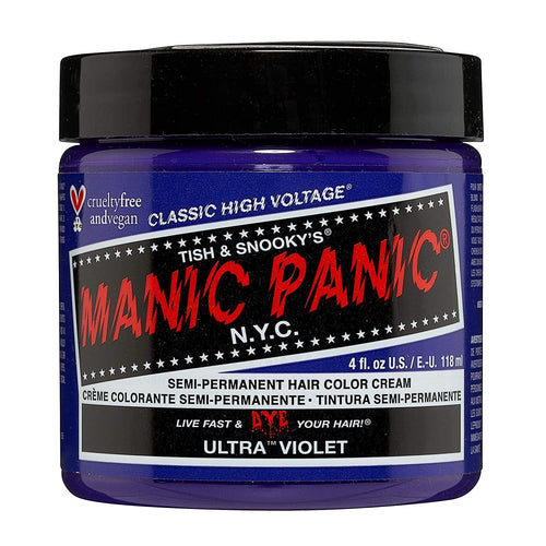 Manic Panic Ultra Violet Blue-toned Hair Dye Color
