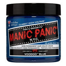 Load image into Gallery viewer, Manic Panic Voodoo Blue Hair Dye – Classic High Voltage - Semi Permanent Hair Color - Pink Cactus Trading Company