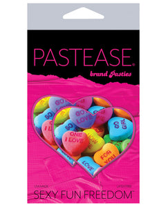 Pastease Valentines Candy Hearts Pasties O/S
