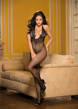 Load image into Gallery viewer, DEEP PLUNGE CROTCHLESS BODYSTOCKING