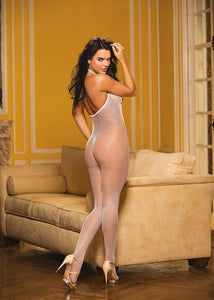 DEEP PLUNGE CROTCHLESS BODYSTOCKING