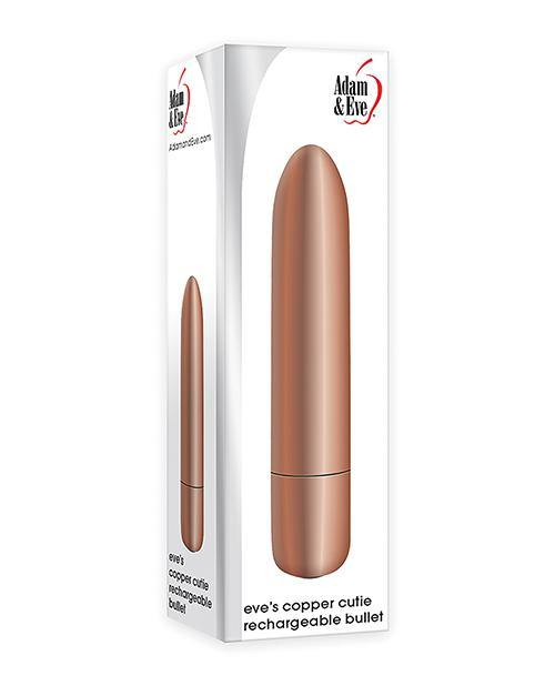 Adam & Eve's Eve's Copper Cutie Rechargeable Bullet - Pink Cactus Trading Company