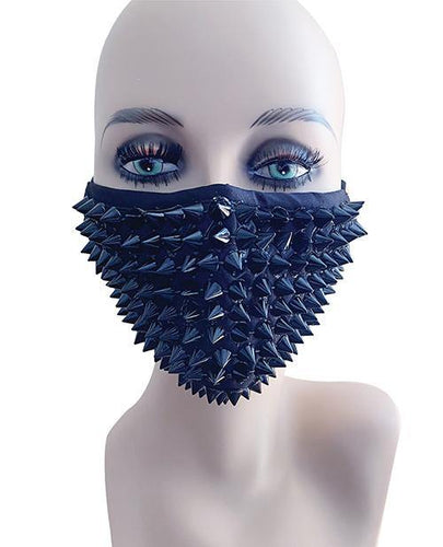 Neva Nude Stud Mask w/Inner 100% Cotton Filter Pocket & Wire Bridge -Black - Pink Cactus Trading Company
