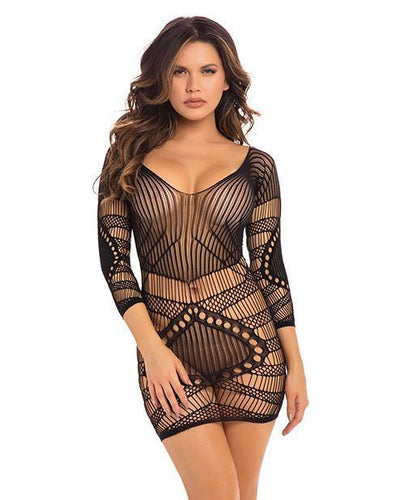 Pleasure Craft Net Dress Black