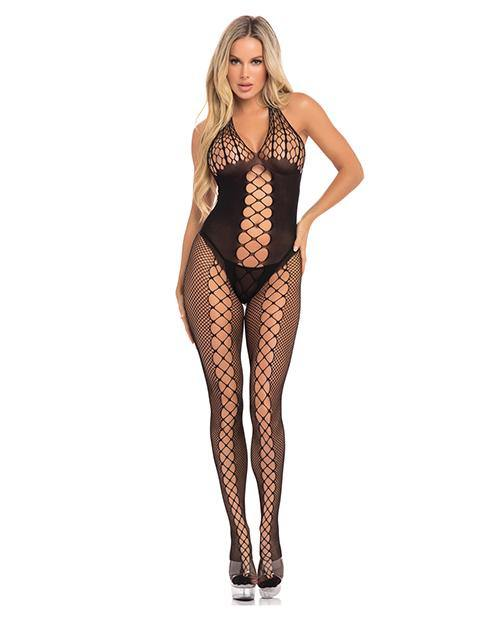 Sister of Mercy Bodystocking Black O/S