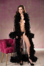 Load image into Gallery viewer, LONG SHEER NYLON ROBE