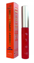 Load image into Gallery viewer, Privy Peach Cherry Dipped Cone Lip Gloss 11ml