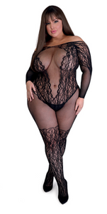 Fifty Shades of Grey Captivate Body Stocking - One Size Queen