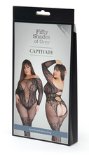 Load image into Gallery viewer, Fifty Shades of Grey Captivate Body Stocking - One Size Queen