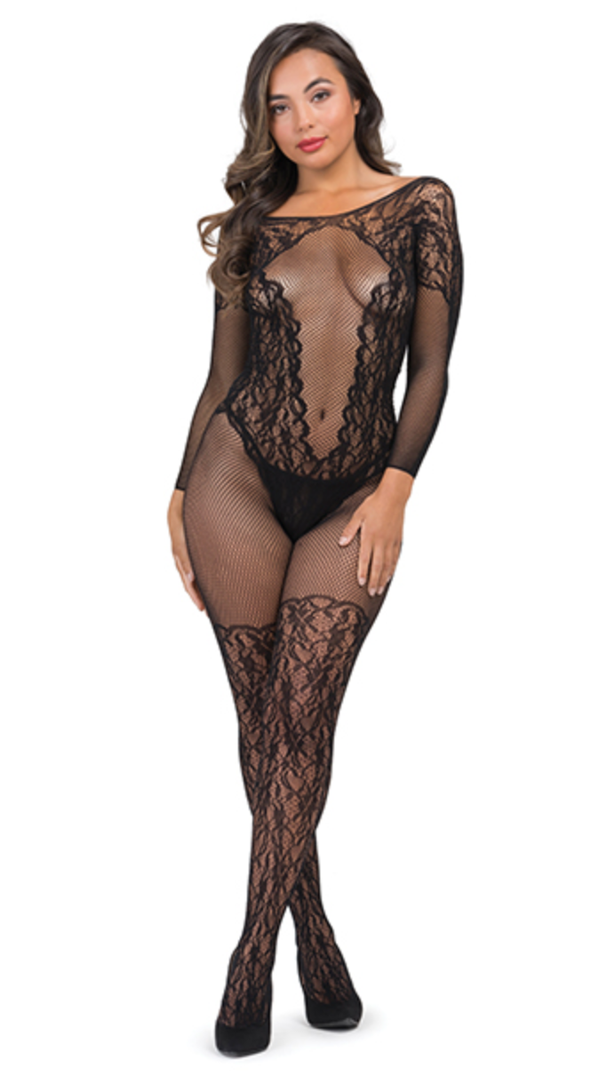 Fifty Shades of Grey Captivate Body Stocking - One Size