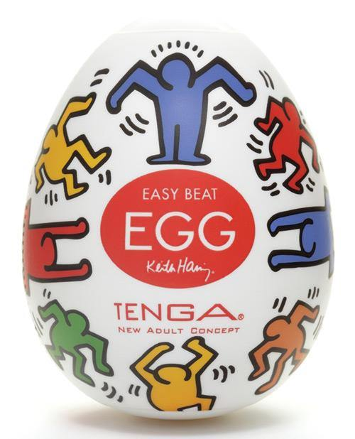 Keith Haring Tenga Egg - Dance - Male Masturbator