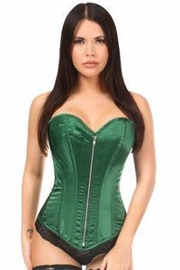 Top Drawer Satin Steel Boned Corset