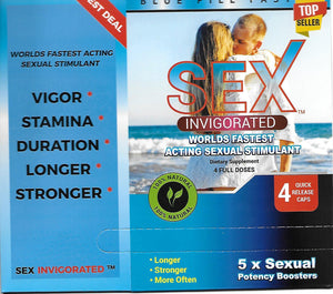 Sex Invigorated 4 pack
