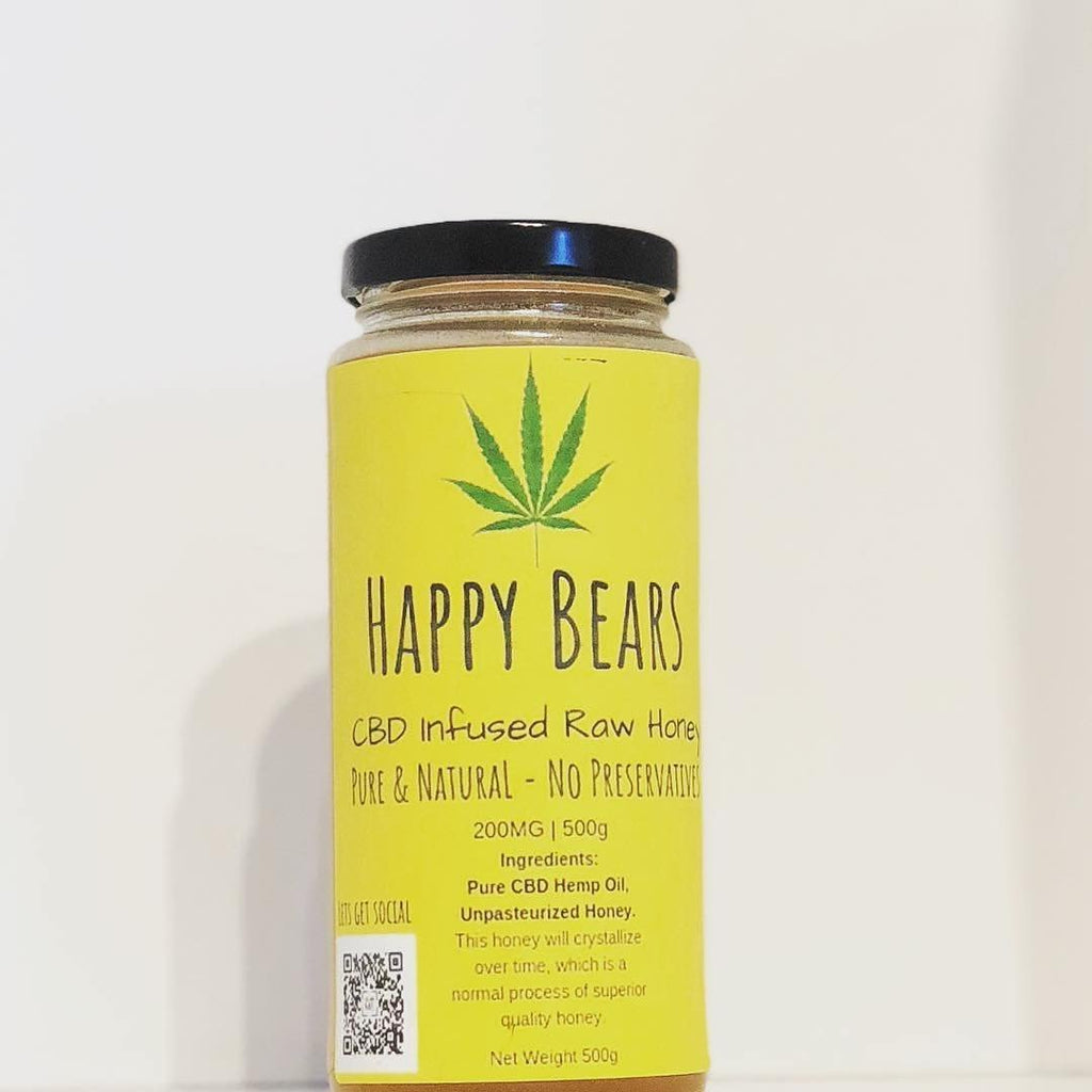 CBD Hemp Infused Raw Honey Benefits - They are endless | HBE CANADA