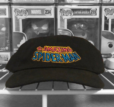 Amazing Spider-Man Blacklight Hat