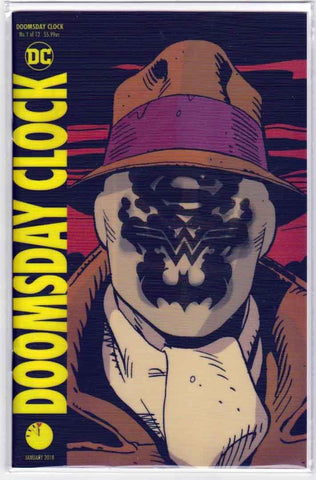 Doomsday Clock #1 Lenticular Cover