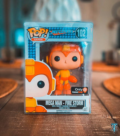 Mega Man - Firestorm Gamestop Exclusive Funko POP