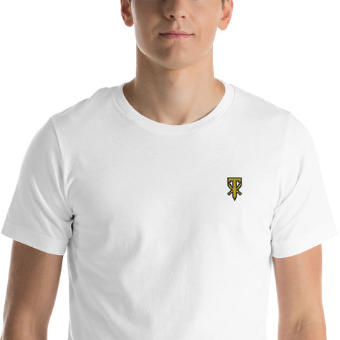 Al Ghul Icon Embroidered Tee (Blk/Gld)
