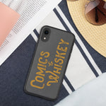 Comics & Whiskey Biodegradable iPhone case