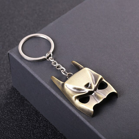 Dark Knight Cowl Keychain