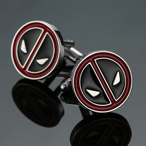 Deadpool Copper Cufflinks