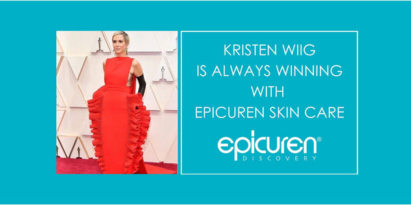 2020 Oscars: Kristen Wiig is Always Winning with Epicuren Skin Care