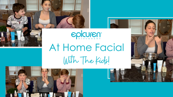 At Home Facial With The Kids