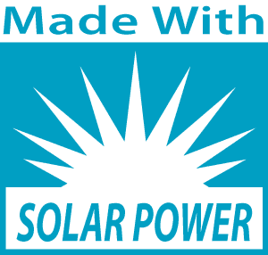 Made with Solar Power Symbol