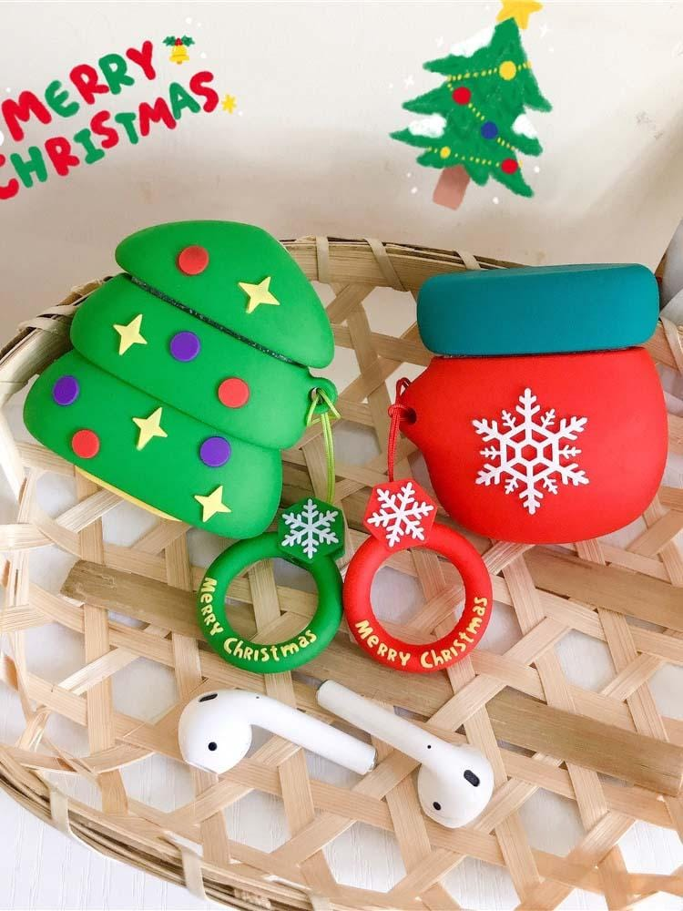 Christmas Iphone Airpods Protection Case