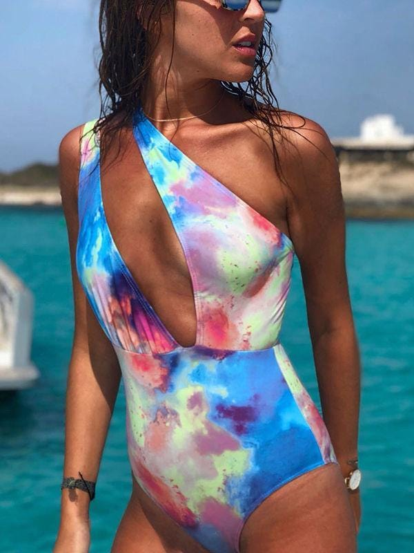 Tropez Printed One-pieces Swimsuit