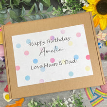 Load image into Gallery viewer, Happy Birthday Personalised Sweet Box-6-The Persnickety Co