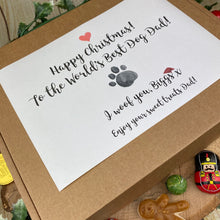 Load image into Gallery viewer, Happy Christmas Worlds Best Dog Mum/Dad Sweet Box