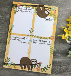 Sloth Stationery Set-2-The Persnickety Co