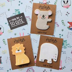 Wild Animal Sticky Note-The Persnickety Co